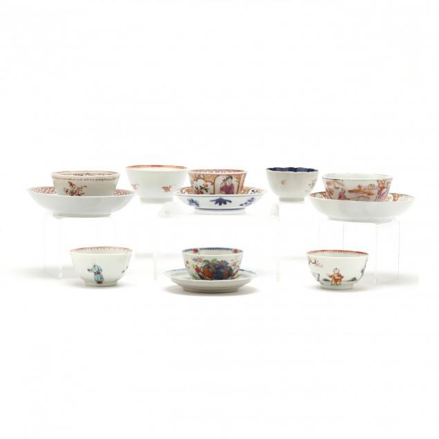 group-of-antique-chinese-export-teacups