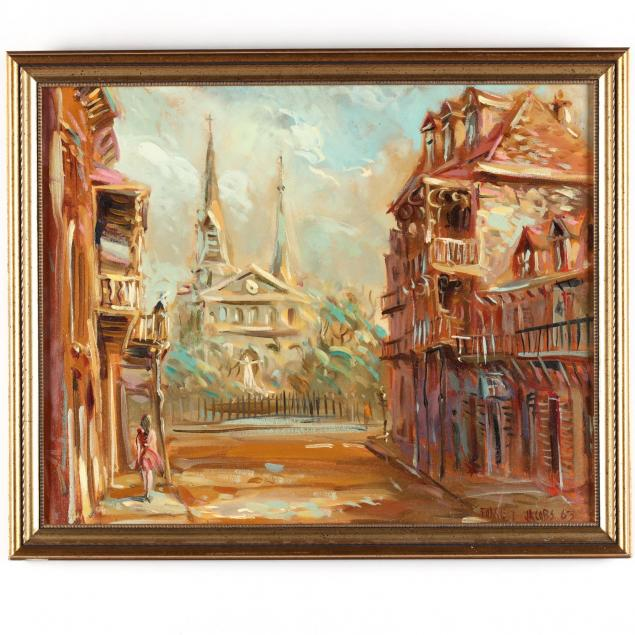 forrest-jacobs-ga-20th-century-i-new-orleans-jackson-square-i