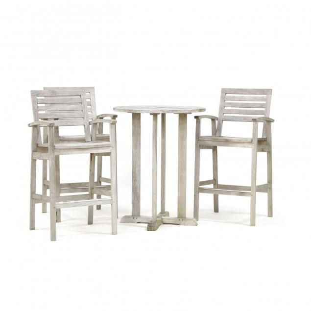 gloster-four-piece-teak-bistro-set