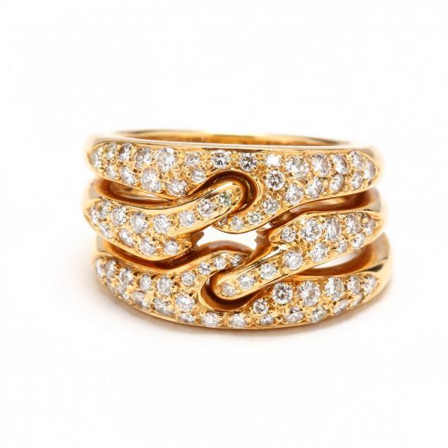 18kt-gold-and-diamond-three-row-ring-bulgari