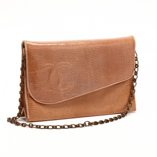 vintage-lizard-skin-diagonal-front-flap-bag-chanel