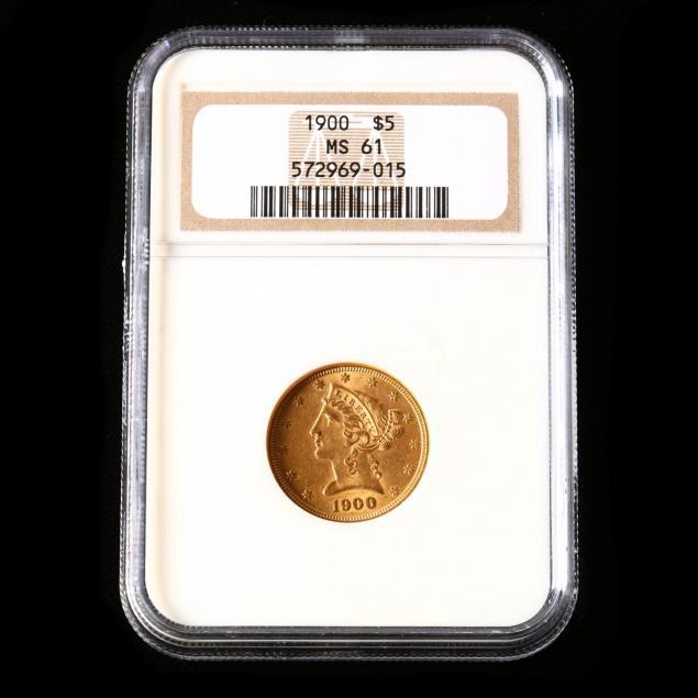 1900-5-liberty-head-gold-half-eagle-ngc-ms61