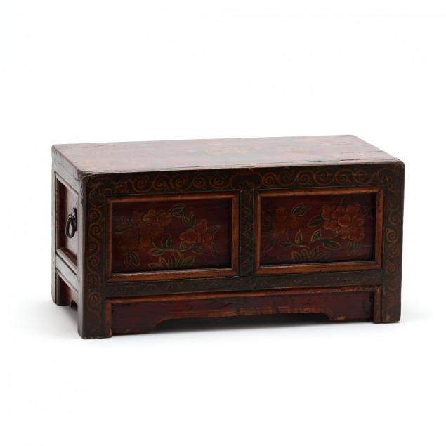 a-chinese-wooden-painted-box-with-two-drawers