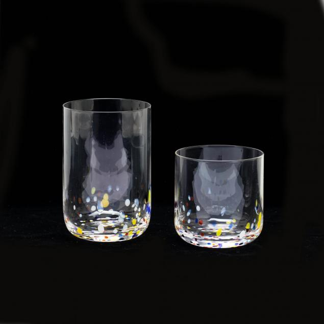 13pc-modern-speckled-glassware