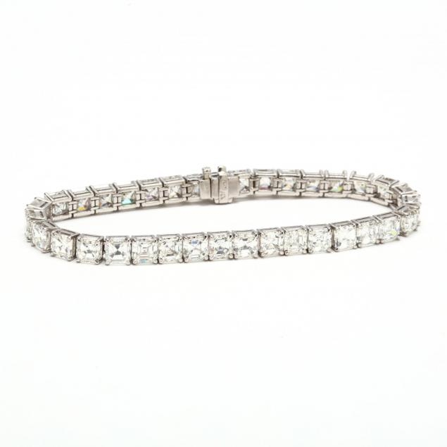 platinum-and-diamond-bracelet