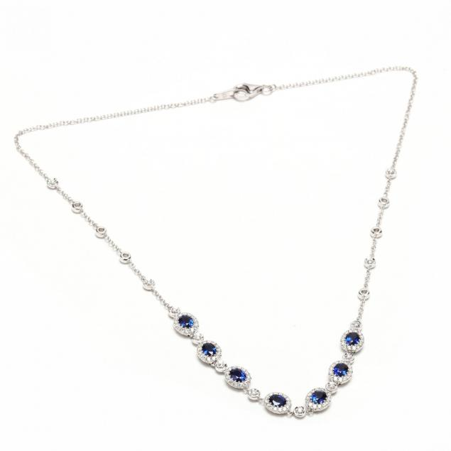 18kt-white-gold-sapphire-and-diamond-necklace