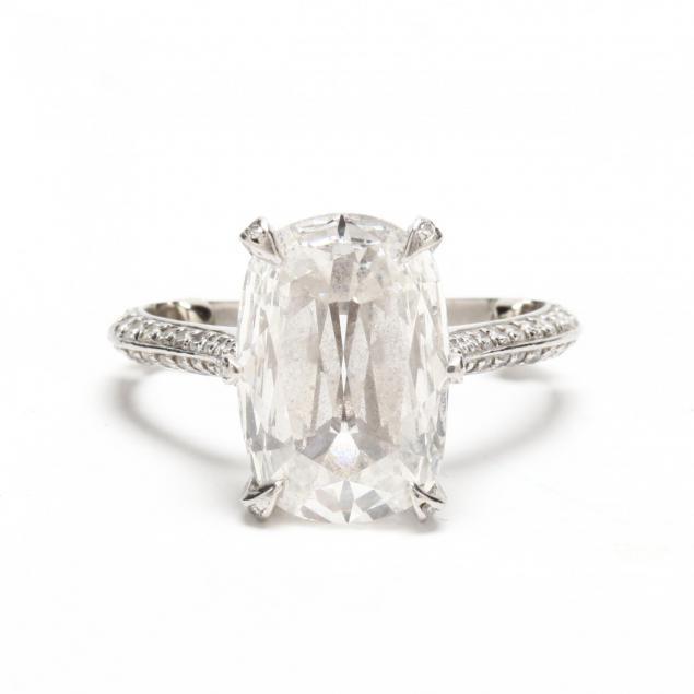unmounted-5-07-carat-diamond-and-platinum-and-diamond-mount
