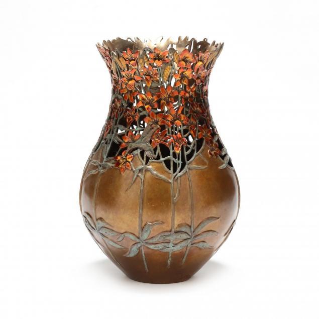 carol-alleman-pa-az-i-celestial-joy-i-bronze-sculptural-vase