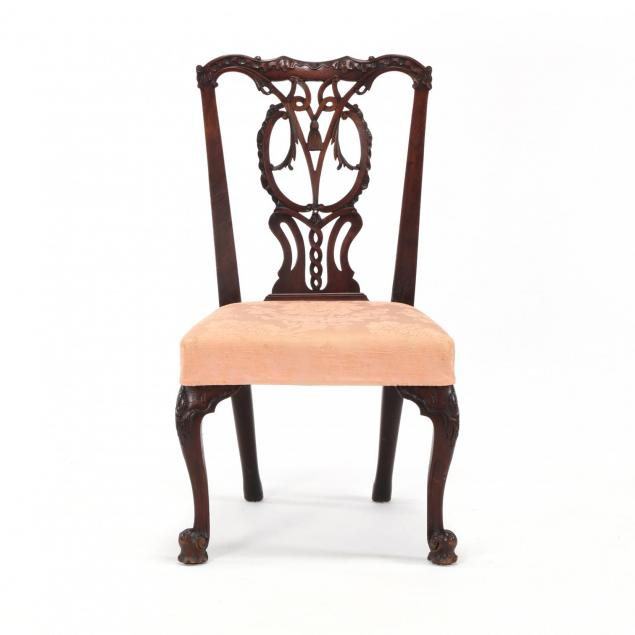 irish-chippendale-carved-mahogany-side-chair