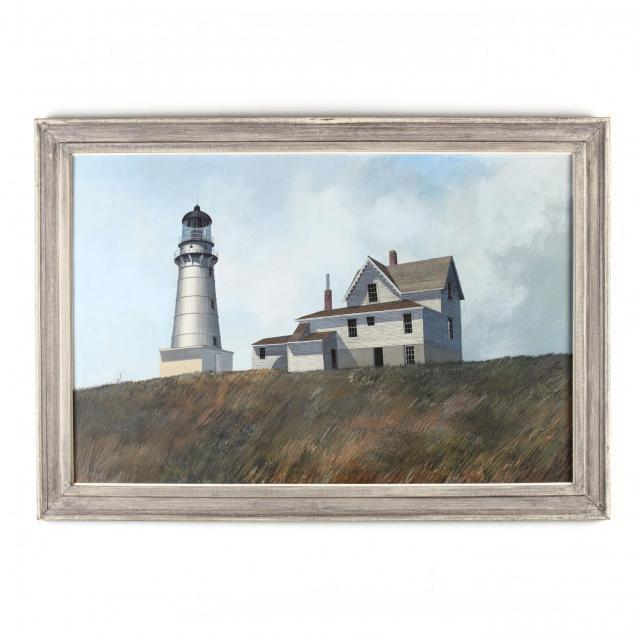 darell-koons-sc-mi-1924-2016-i-maine-lighthouse-i