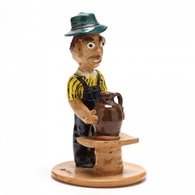 nc-folk-pottery-albert-hodge-figurine