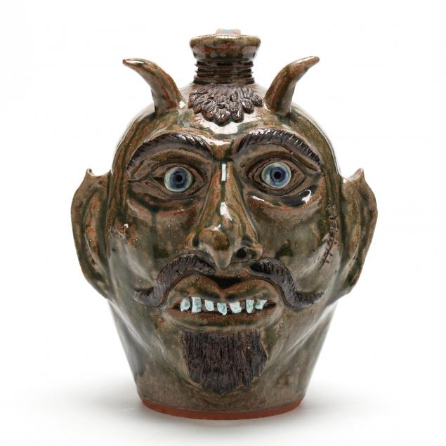 nc-folk-pottery-albert-hodge-devil-jug