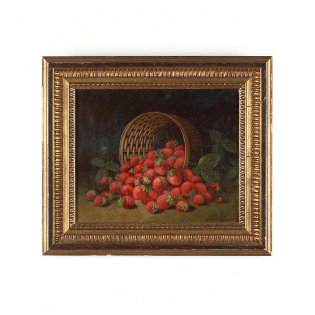 james-lewy-19th-c-still-life-with-spilled-strawberries