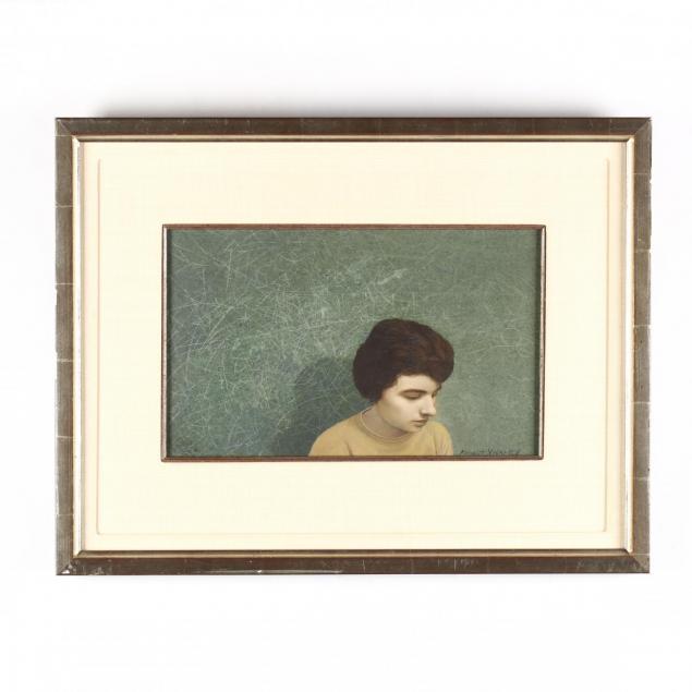 robert-vickrey-1926-2011-portrait-of-a-woman