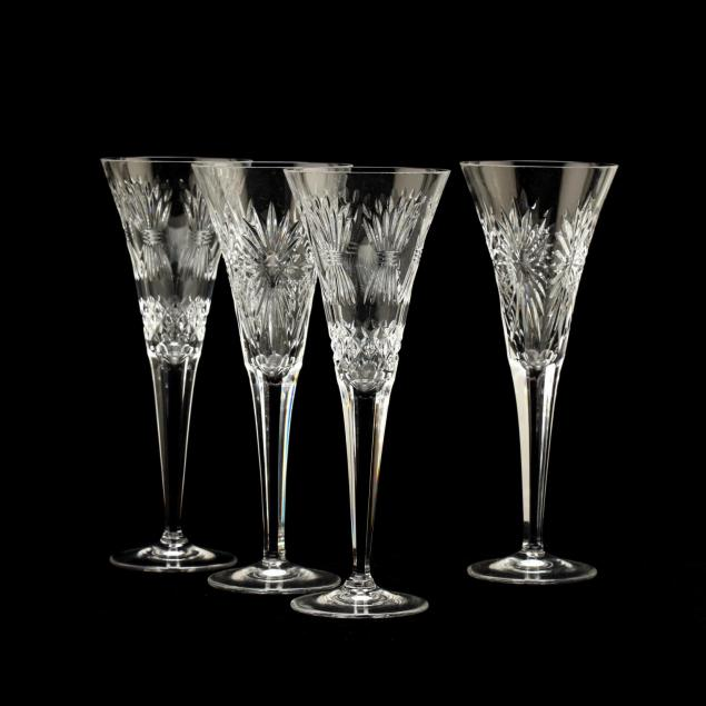 waterford-two-pairs-of-millennium-toasting-flutes