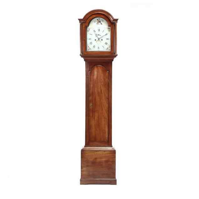 georgian-mahogany-tall-case-clock
