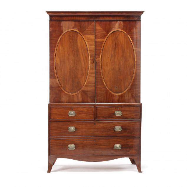 george-iii-inlaid-mahogany-linen-press