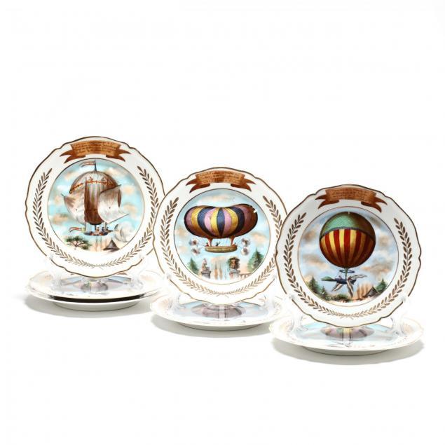 a-set-of-seven-paris-porcelain-plates