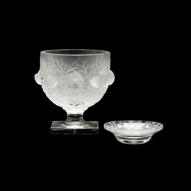 lalique-crystal-pedestal-bowl-and-tray