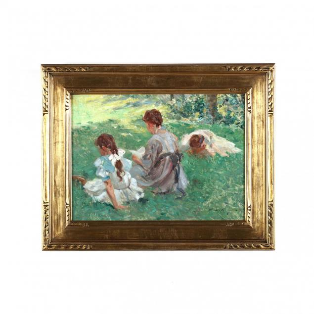 edmund-marion-ashe-1867-1941-study-for-i-on-the-lawn-i