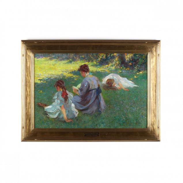 edmund-marion-ashe-1867-1941-i-on-the-lawn-i