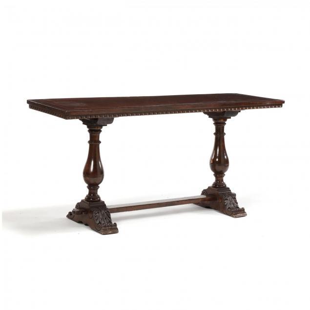 italian-baroque-style-walnut-library-table