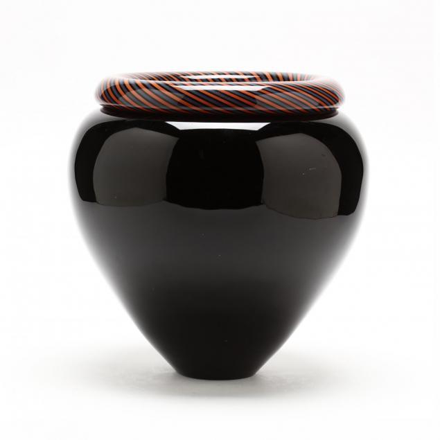 lino-tagliapietra-italian-b-1934-swirled-glass-vase