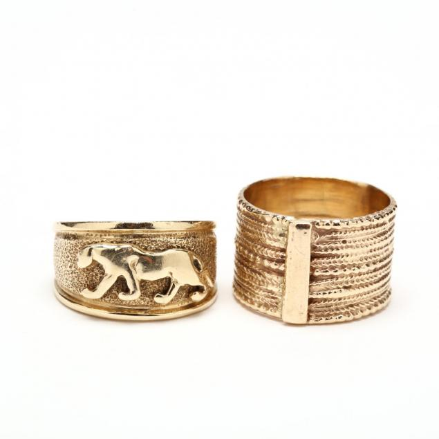 two-14kt-gold-rings