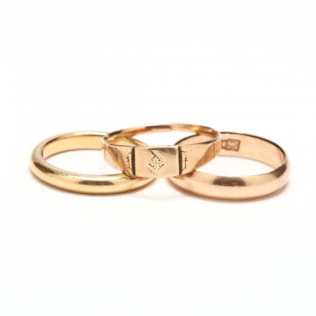 three-18kt-gold-bands
