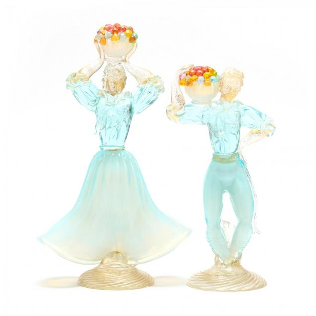 barovier-toso-pair-of-glass-figures