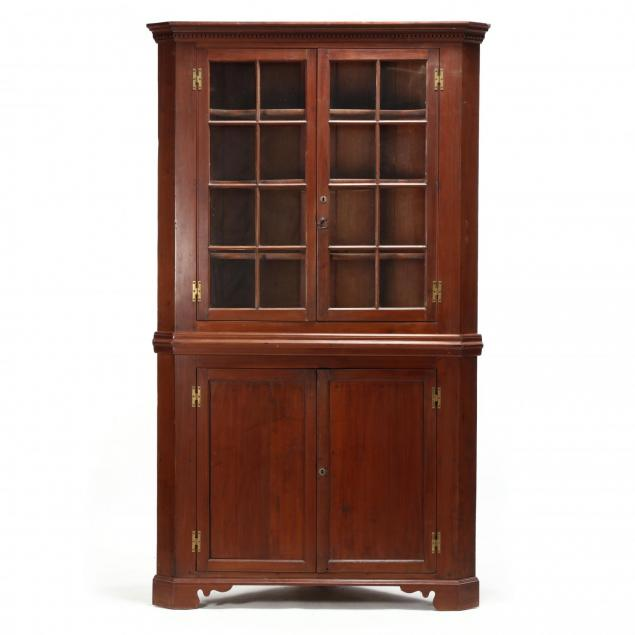 southern-chippendale-walnut-corner-cupboard