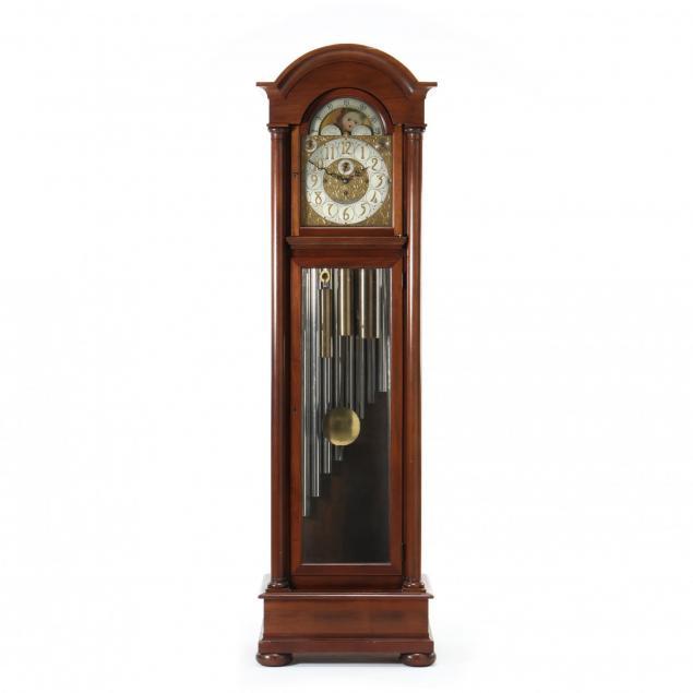 bailey-banks-biddle-nine-tube-tall-case-clock