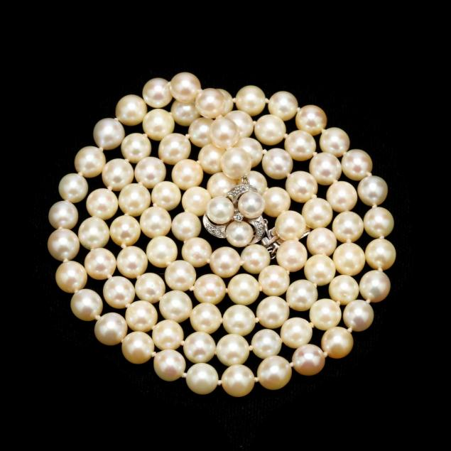 14kt-white-gold-diamond-and-pearl-necklace