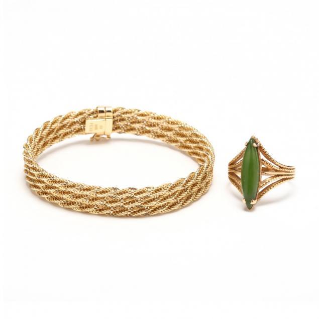 gold-bracelet-and-ring