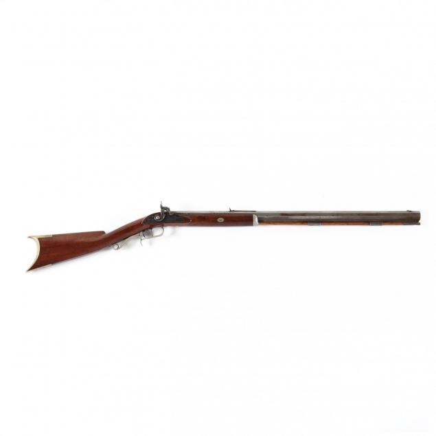 henry-p-brunker-signed-illinois-half-stock-percussion-rifle