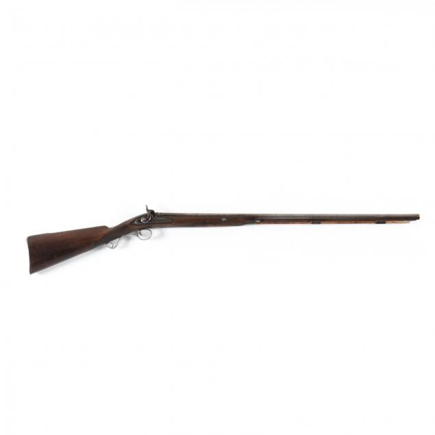 delicate-isaac-riviere-english-percussion-shotgun-with-hallmarked-silver-mounts