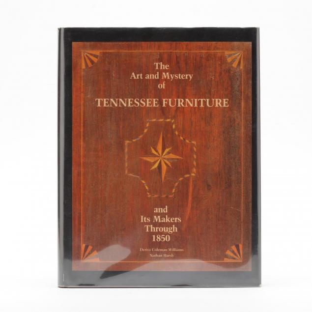 williams-d-and-harsh-n-i-the-art-and-mystery-of-tennessee-furniture-i