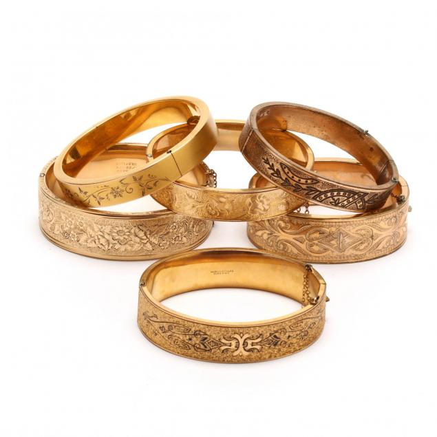 six-gold-filled-bangle-bracelets