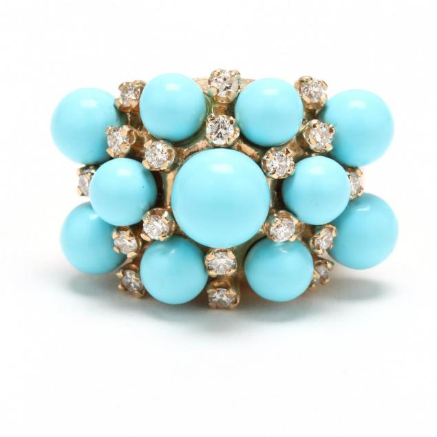 14kt-gold-turquoise-and-diamond-ring