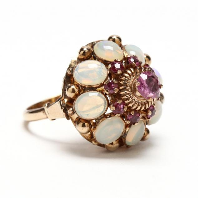 14kt-pink-sapphire-and-labradorite-ring