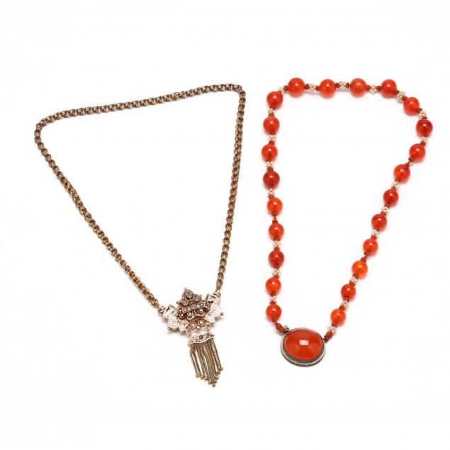 two-victorian-necklaces