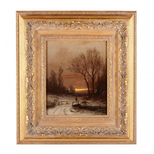j-carleton-wiggins-ny-ct-france-1848-1932-winter-s-eve