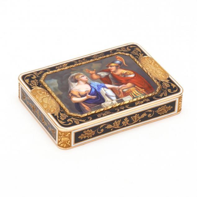 a-swiss-enameled-gold-snuff-box