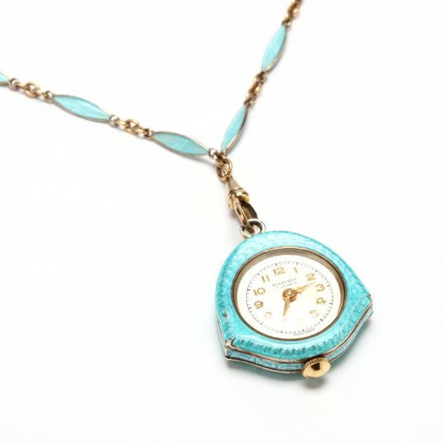 gold-filled-and-enamel-pendant-watch-bucherer