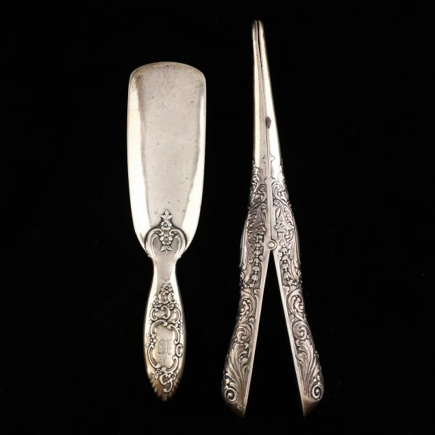 two-tiffany-co-sterling-silver-vanity-accessories