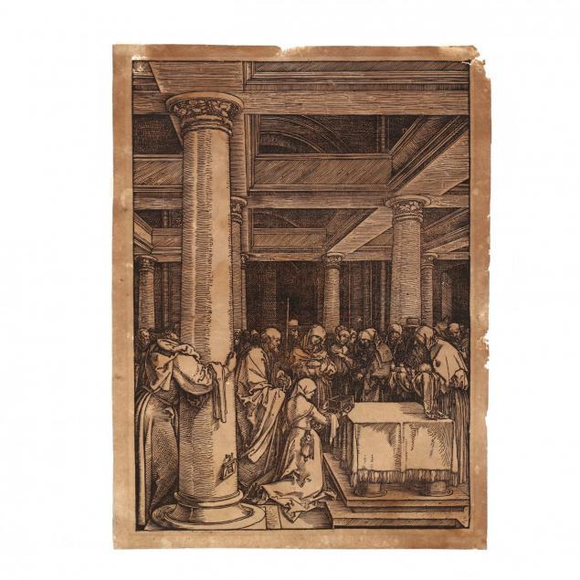 albrecht-durer-german-1471-1528-i-the-presentation-in-the-temple-i