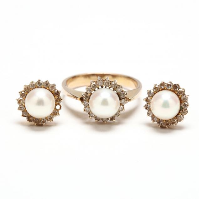 14kt-pearl-and-diamond-suite