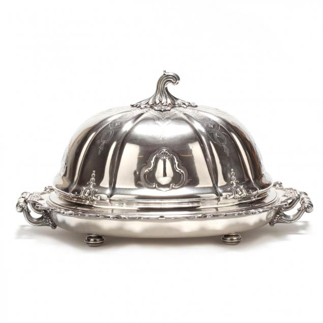 an-antique-english-silverplate-roast-dish-cover