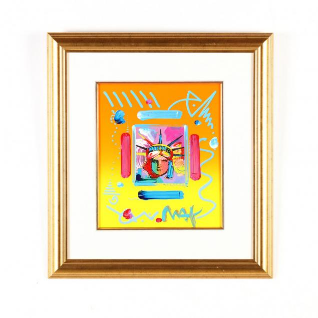 peter-max-american-german-b-1937-i-liberty-head-ii-i