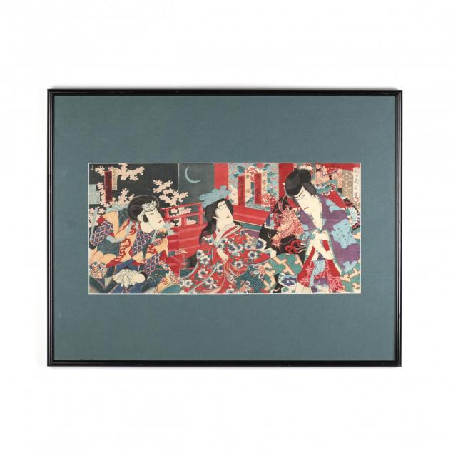 a-woodblock-print-triptych-by-toyohara-chikanobu-japanese-1838-1912